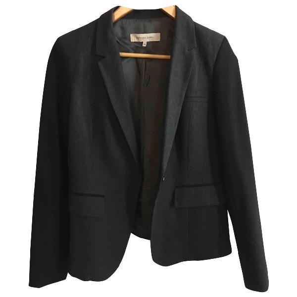Gerard Darel Anthracite Wool Jacket