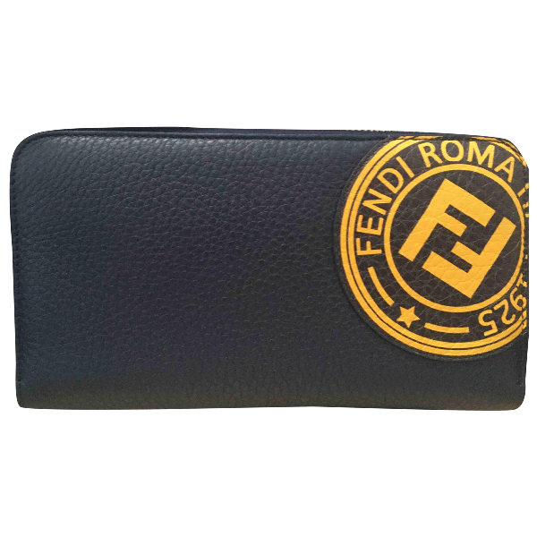 Fendi Navy Leather Small Bag, Wallet & Cases