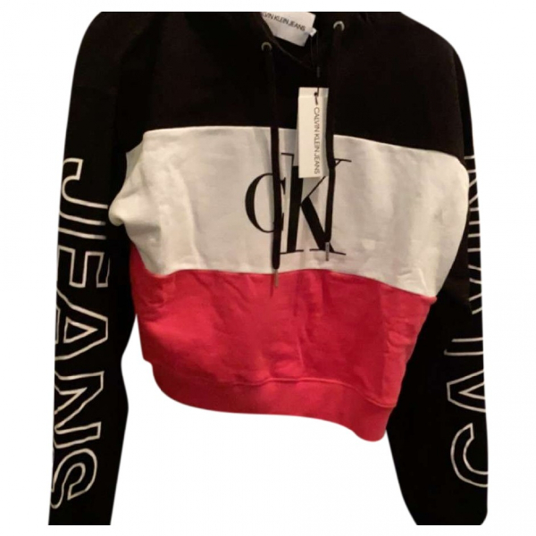 Calvin Klein Black Cotton Knitwear