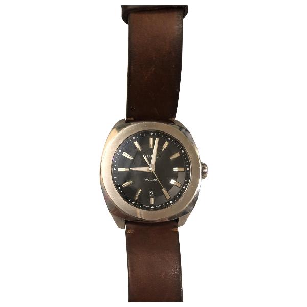 Gucci Silver Steel Watch