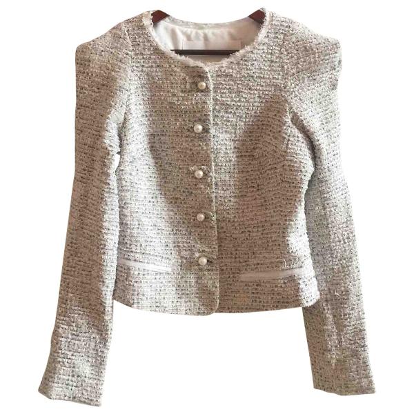 Zac Posen Multicolour Tweed Jacket