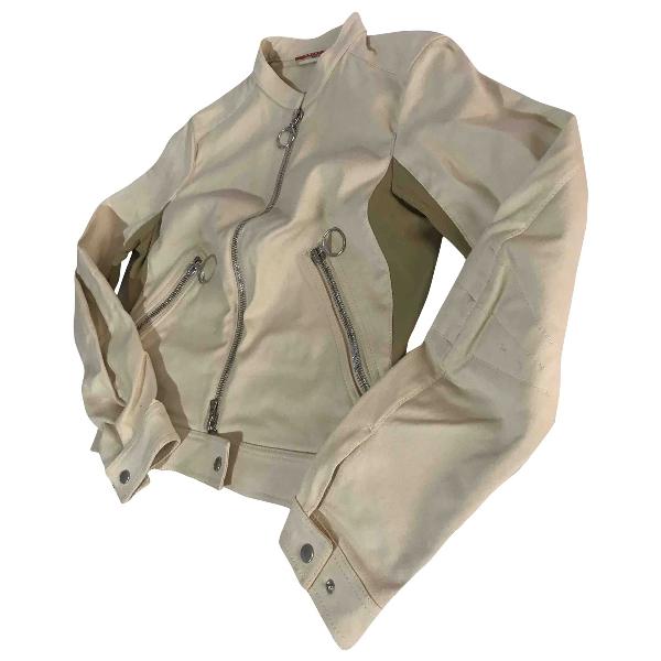 Prada Beige Cotton Jacket