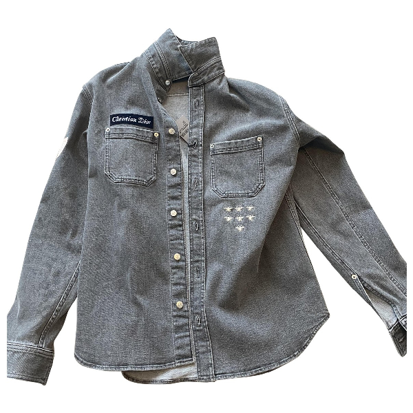 Dior Grey Denim - Jeans Jacket