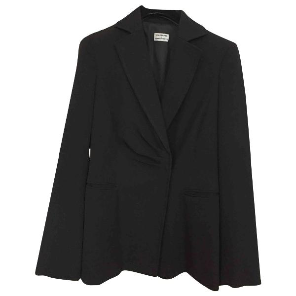 Philosophy Di Alberta Ferretti Black Wool Jacket