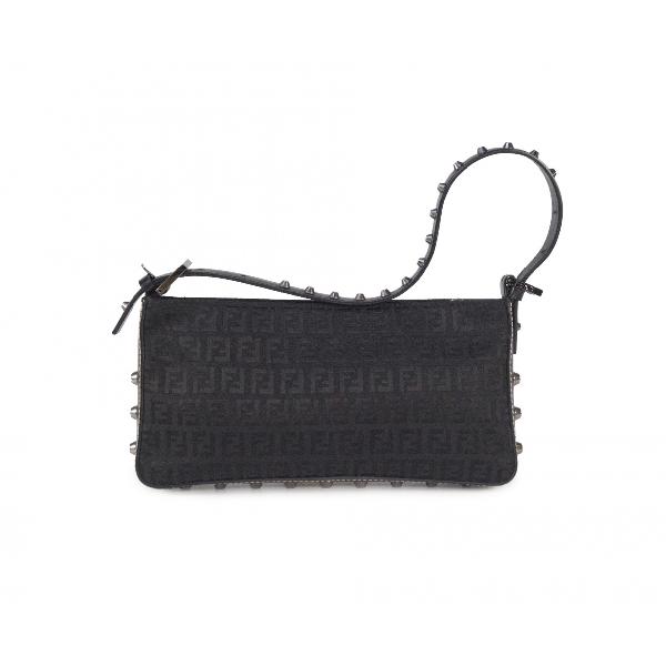 Fendi Black Cloth Handbag