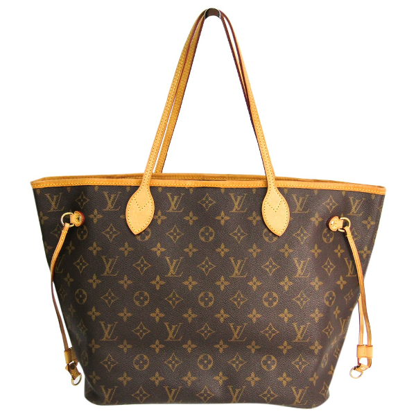 Louis Vuitton Neverfull Brown Cloth Handbag