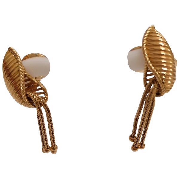Boucheron Gold Yellow Gold Earrings