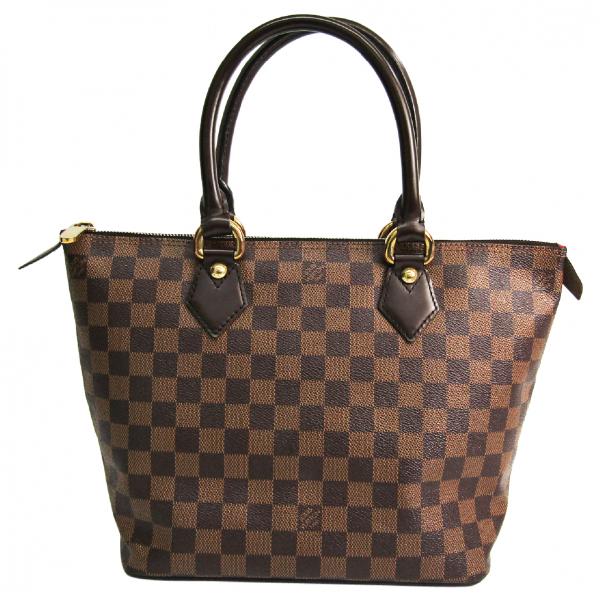 Louis Vuitton Saleya Brown Cloth Handbag