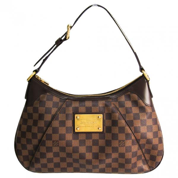 Louis Vuitton Thames Brown Cloth Handbag