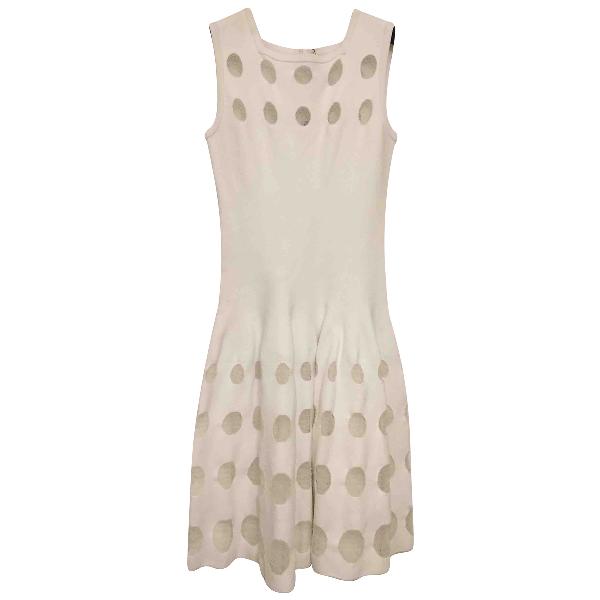 AlaÏa White Dress