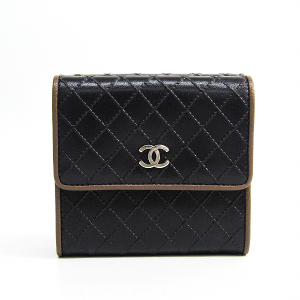 Chanel Brown Leather Wallet