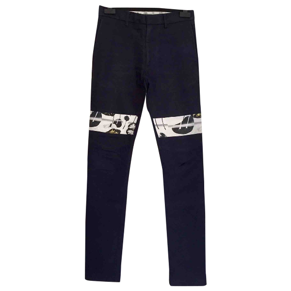 Opening Ceremony Blue Cotton Trousers