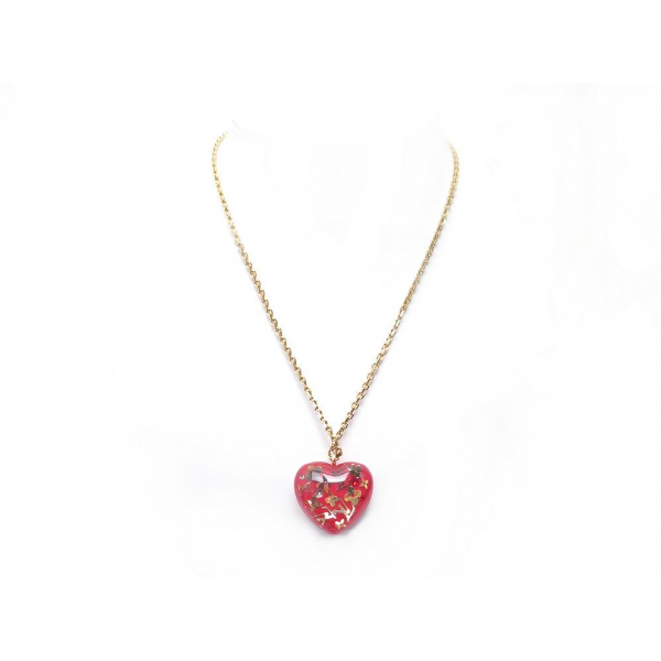 Louis Vuitton Inclusion Red Metal Necklace