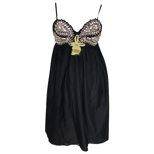 Manoush Black Cotton Dress