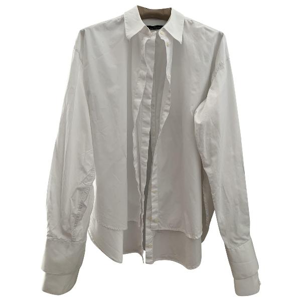 Rokh White Cotton  Top