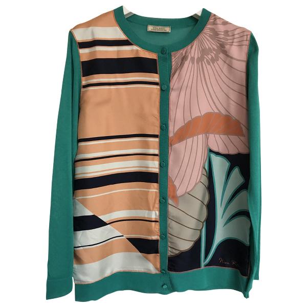 Nina Ricci Multicolour Silk  Top