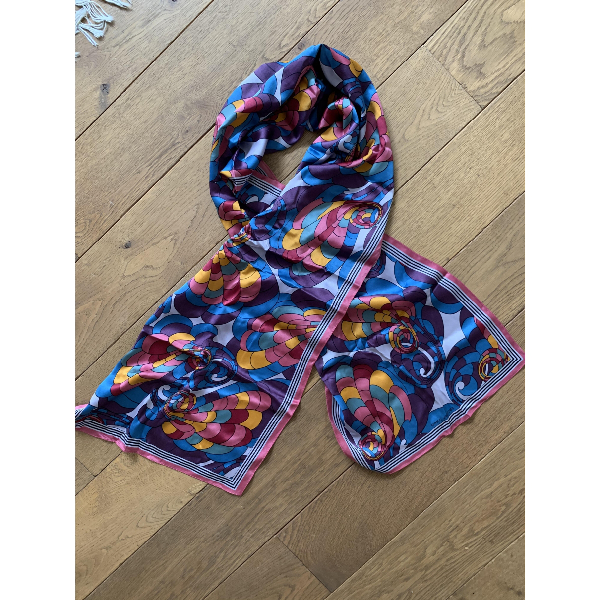 Marc Jacobs Multicolour Silk Scarf