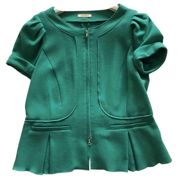 Nina Ricci Green Wool Jacket