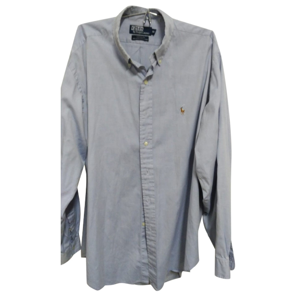 Polo Ralph Lauren Blue Cotton Shirts