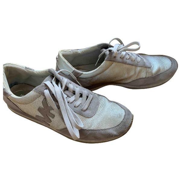 Michael Kors Grey Patent Leather Trainers