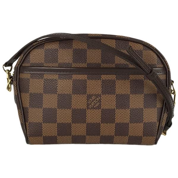 Louis Vuitton Ipanema Brown Cloth Handbag