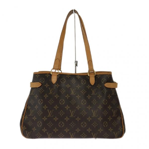 Louis Vuitton Batignolles Brown Cloth Handbag