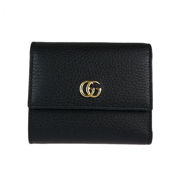 Gucci Marmont Black Leather Wallet