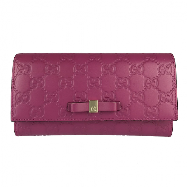Gucci Pink Leather Wallet