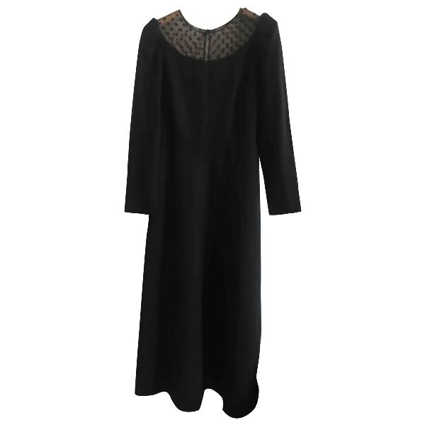 Saint Laurent Black Wool Dress