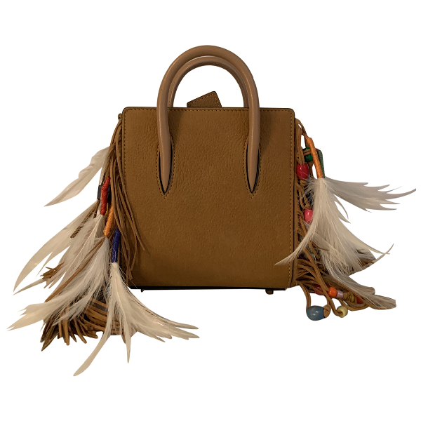 Christian Louboutin Paloma Camel Leather Handbag