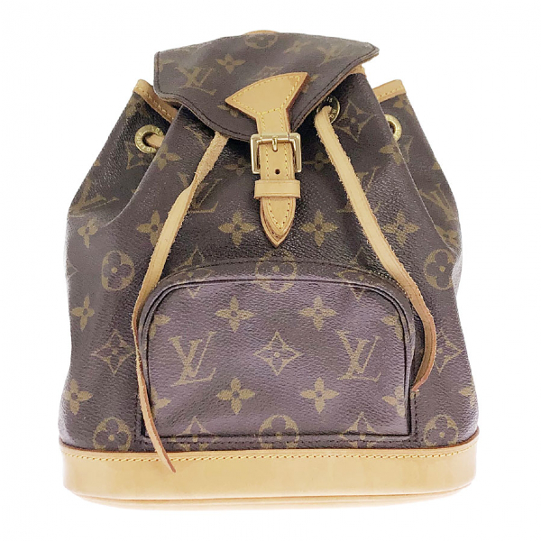 Louis Vuitton Montsouris Brown Cloth Backpack
