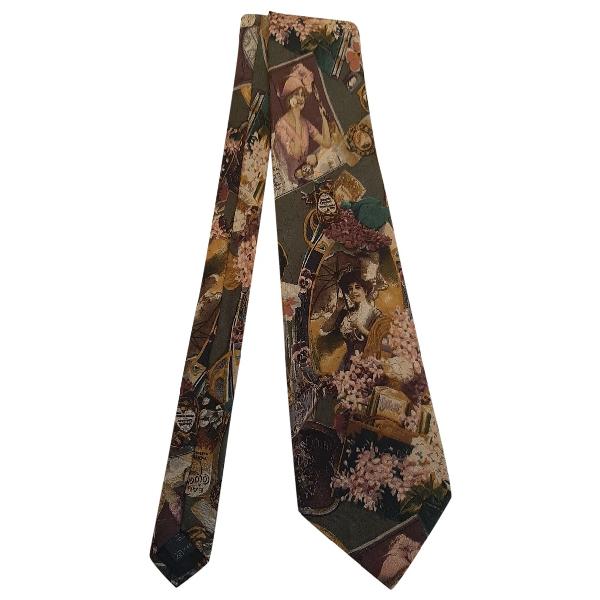 Ermenegildo Zegna Multicolour Silk Ties