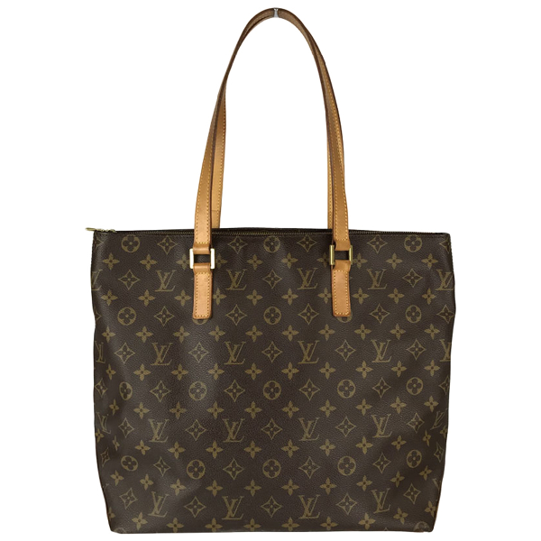 Louis Vuitton Mezzo  Brown Cloth Handbag