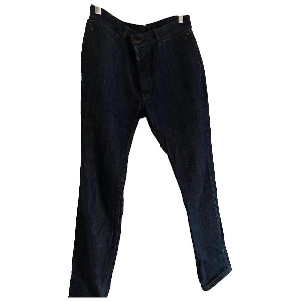 Maison Margiela Navy Cotton Jeans
