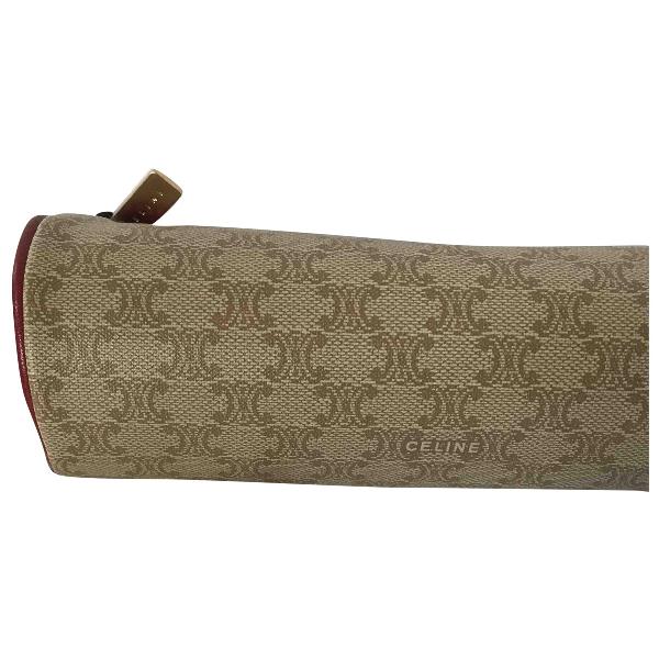 Celine Brown Cloth Purses, Wallet & Cases