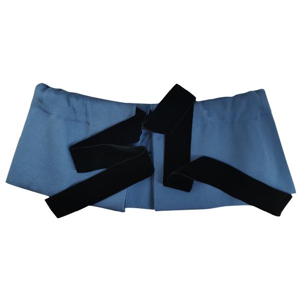 Miu Miu Blue Silk Scarf