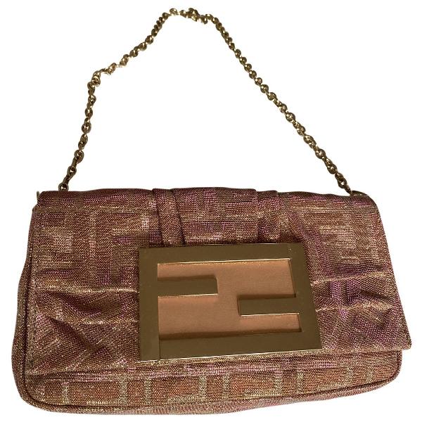 Fendi Multicolour Glitter Clutch Bag