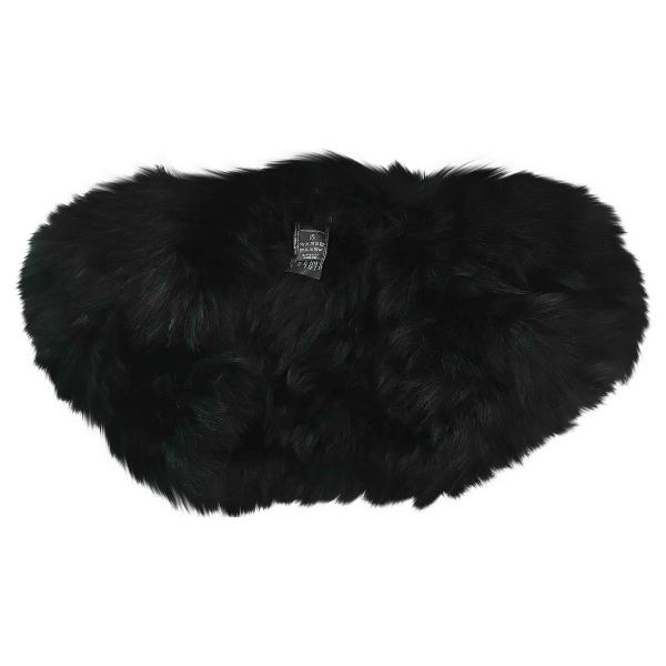Max Mara Black Fox Jacket