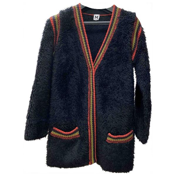 M Missoni Black Wool Coat