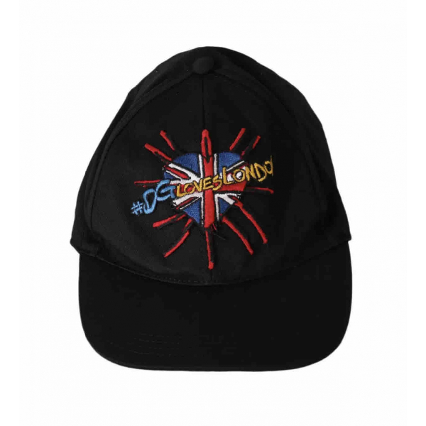 Dolce & Gabbana Black Cotton Hat