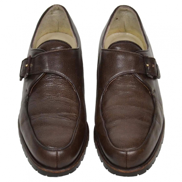 Bally Brown Leather Flats