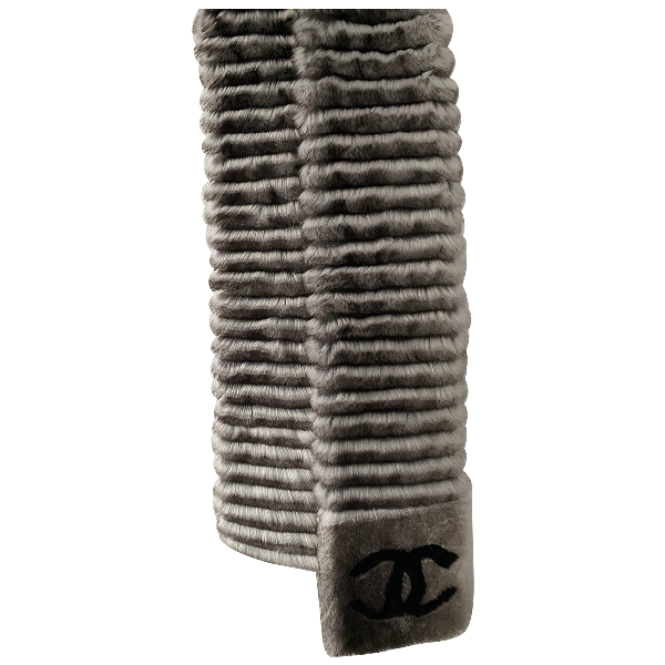 Chanel Rabbit Scarf
