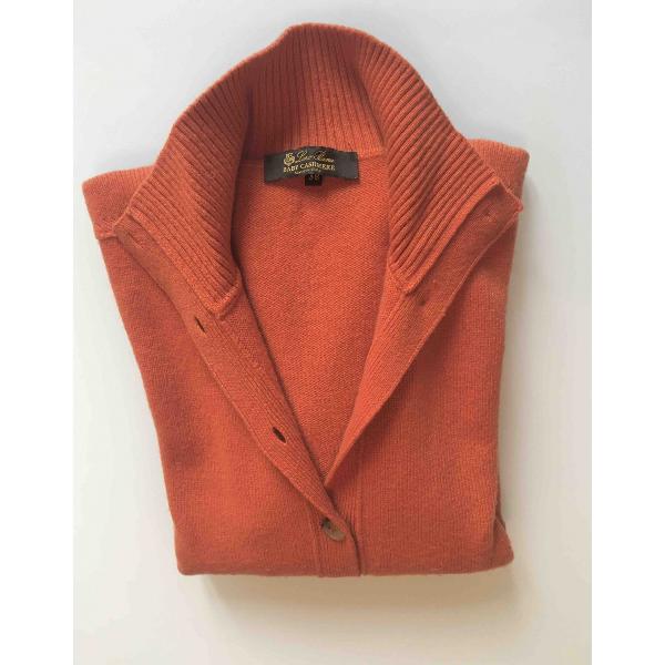 Loro Piana Orange Cashmere Knitwear