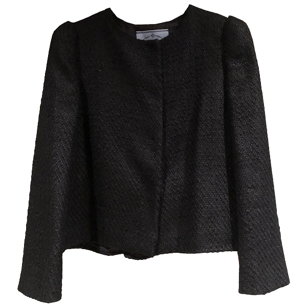 Prada Black Tweed Jacket