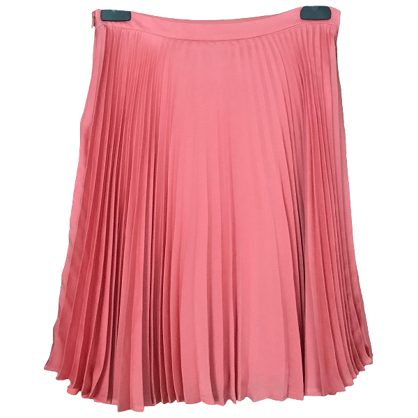 Sandro Pink Skirt