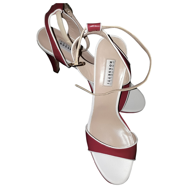 Fratelli Rossetti Red Leather Heels