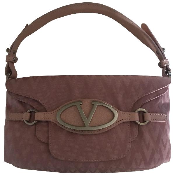 Valentino Garavani Pink Cloth Handbag