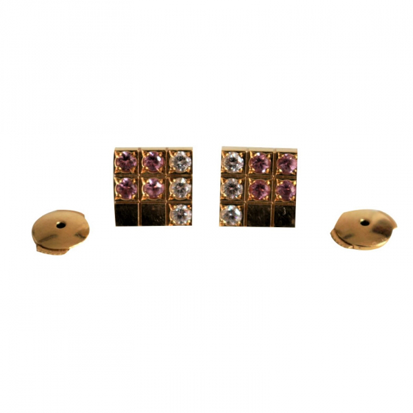 Cartier LaniÈres Gold Yellow Gold Earrings