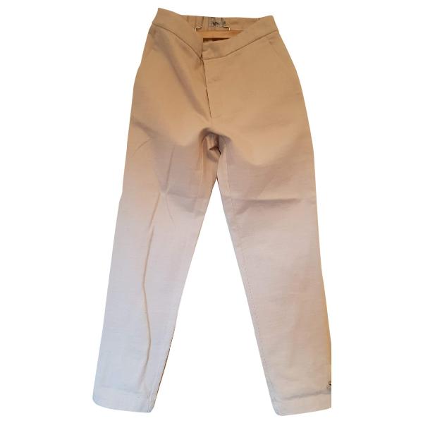 Barena Venezia Ecru Cotton Trousers