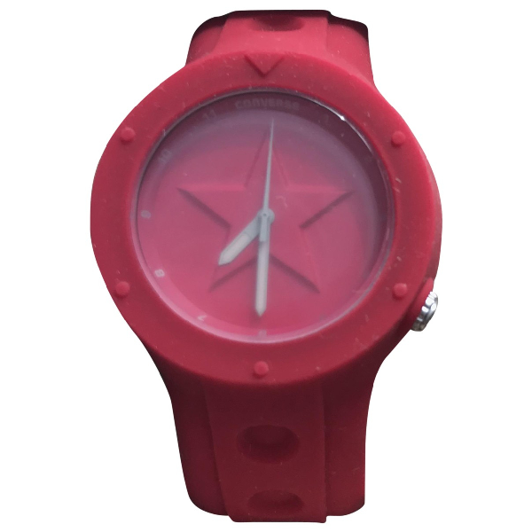 Converse Pink Rubber Watch